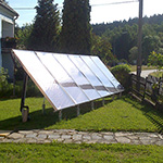 Solaranlage 15m², With Karlstift